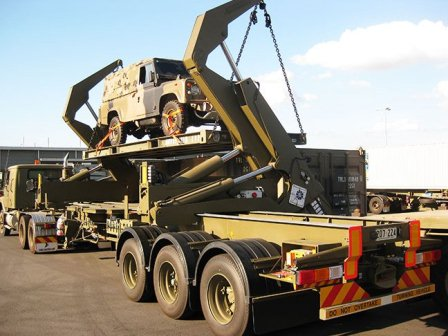truck crane sidelifter