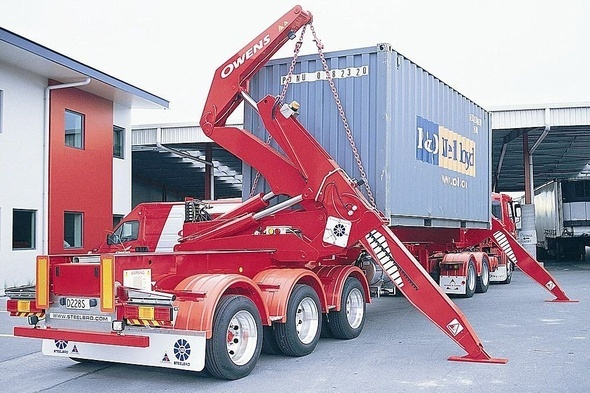 TRANSPORTATION OF CONTAINER