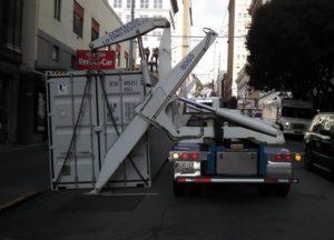 side load crane