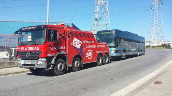 remolque de buses, camiones, transporte pesado y camiones