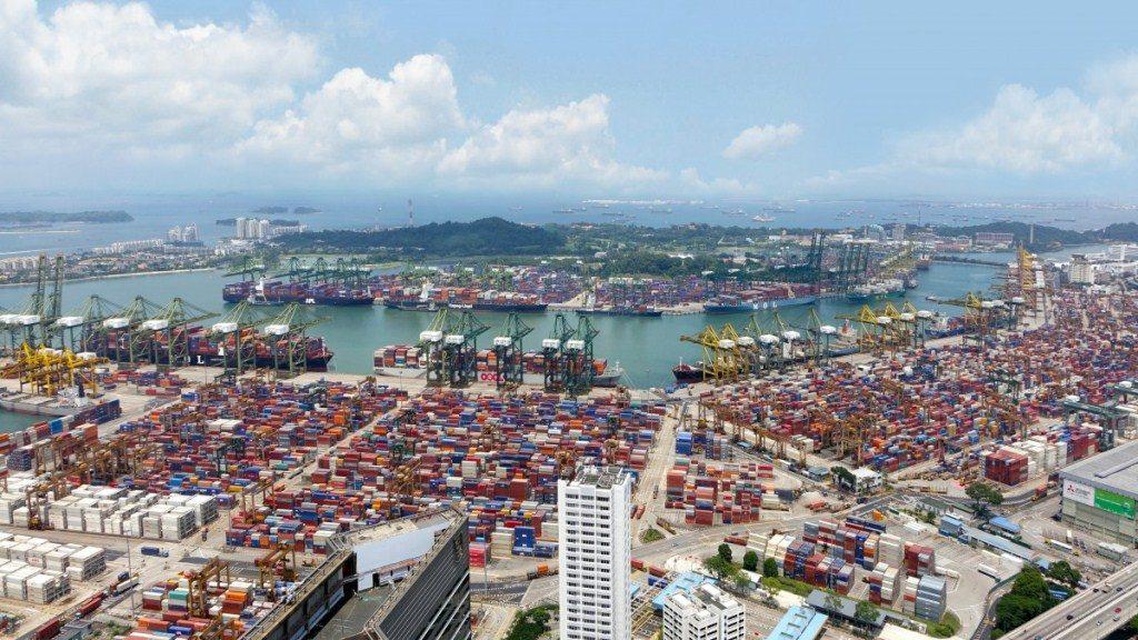 puerto de contenedores
