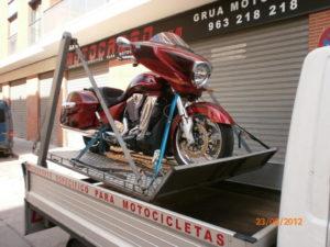 remolque asistencia mecanica de motos