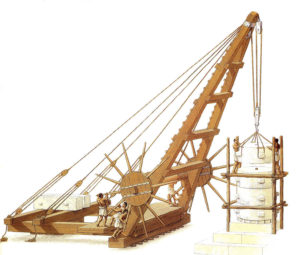 old cranes, Ancient Greek inventions