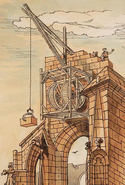 old cranes. Crane Wheel