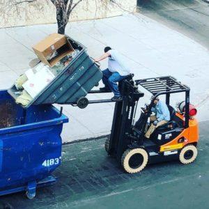 Warehouse Forklift Driver