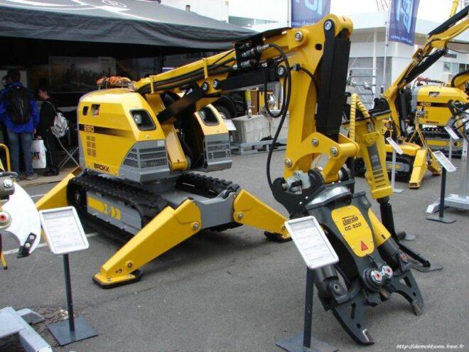 grua robotica