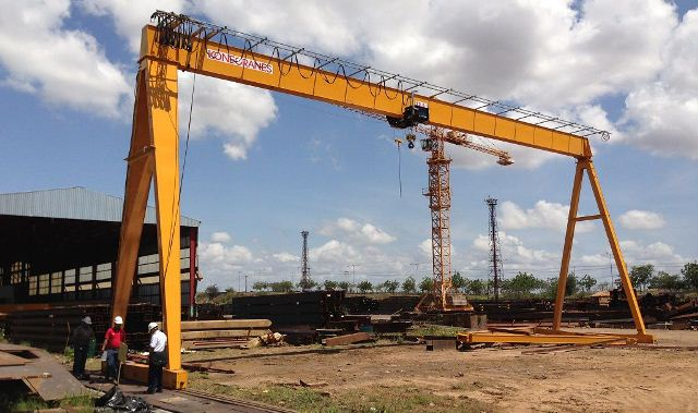 Bridge crane, Gantry Crane Design