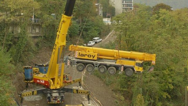 MOBILE CRANE PARTS ▷ Parts of a Hydraulic Truck Crane