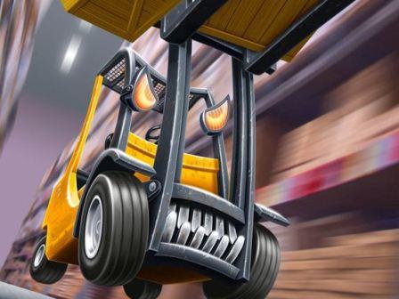 INDUSTRIAL FORKLIFT TRUCK ▷ material handling equipment
