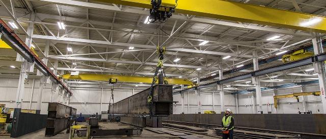 overhead crane components