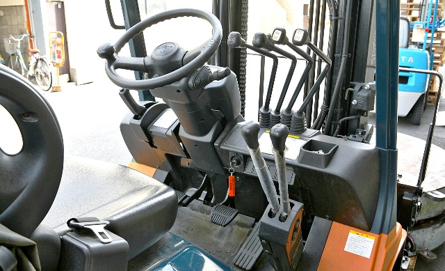 Forklift Controls Levers Diagram Sit Down Forklift Controls