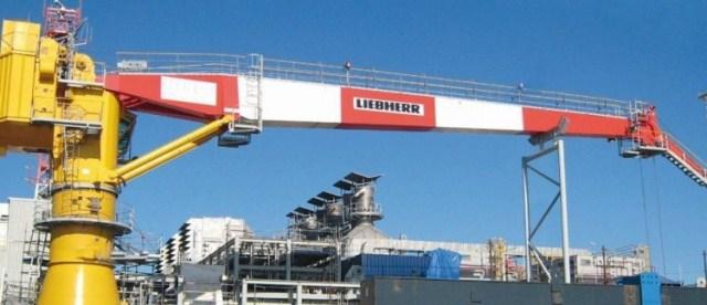 liebherr offshore crane