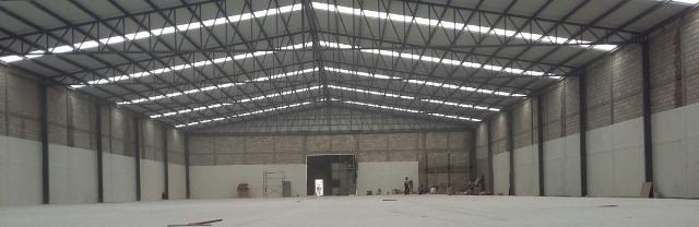 Construcción de Naves Industriales