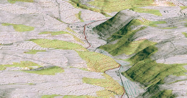 WHAT is a TOPOGRAPHIC MAP ▷ Topographic map definition