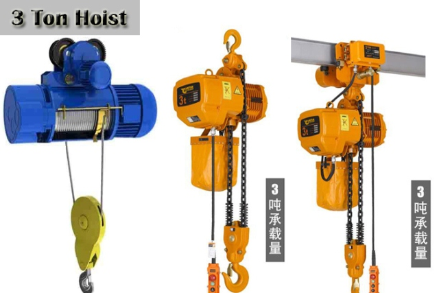3 Ton Electric Chain Hoist