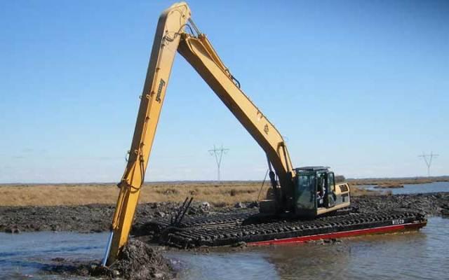 Amphibious Excavator