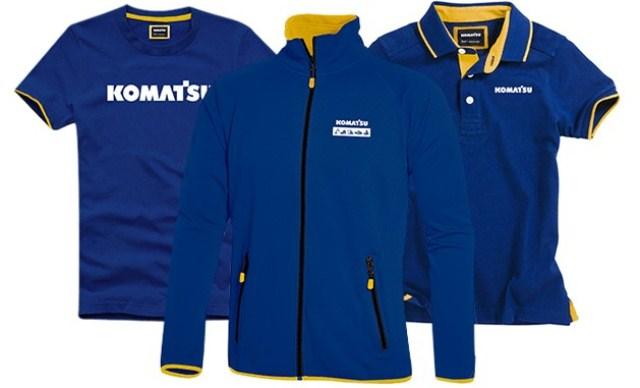 Komatsu clothing