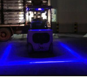 Forklift Blue Light