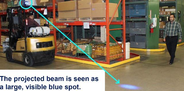 Forklift Blue Light