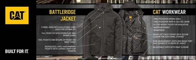 Caterpillar battleridge jacket