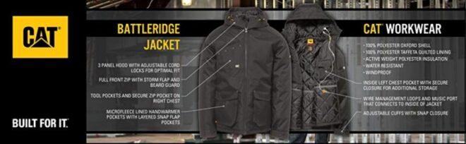 Caterpillar battleridge jacket