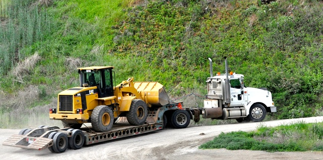 Construction Equipment Hauling