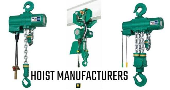 Hoist Manufacturers