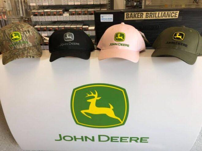 John Deere ball cap