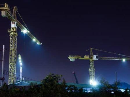 Construction Crane Lights