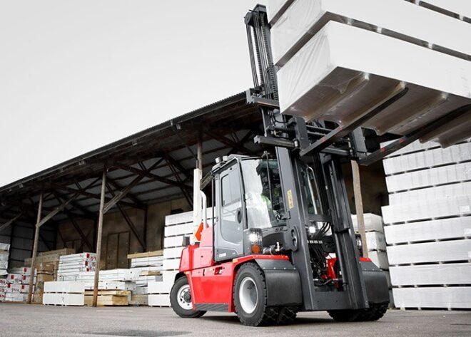 Straight Mast Forklift