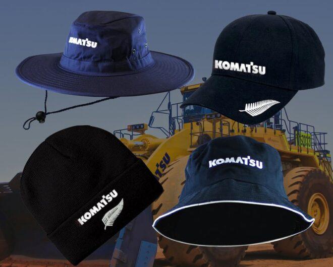 Komatsu Hats