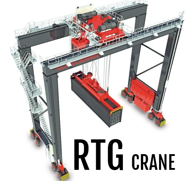 Liebherr Rtg Crane: RTG CRANE: Rubber Tyred Gantry Crane In US And UK