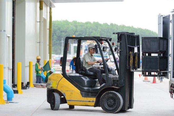 Como manejar un Forklift