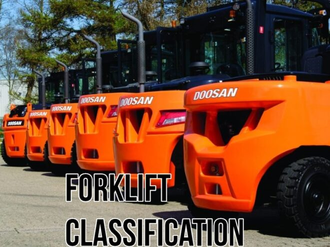 Forklift Classification Chart