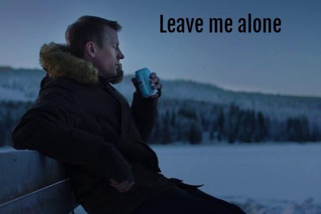 "Kimi Raikkonen: ""leave me alone"""