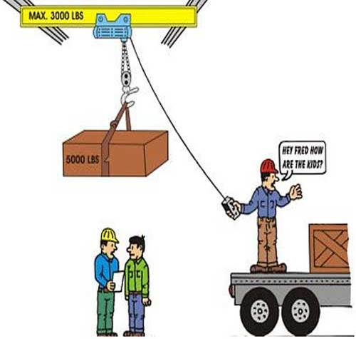 lifting operations risk assessment
