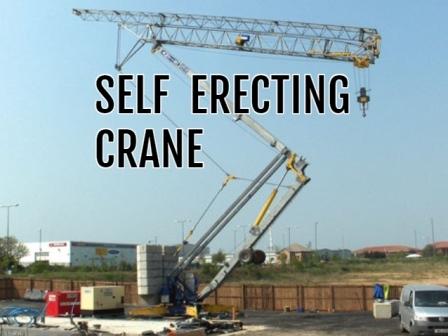 Self Erecting Crane Rental