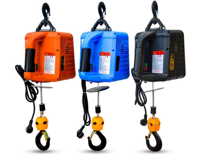 Electric Hoist with Wireless Remote Control