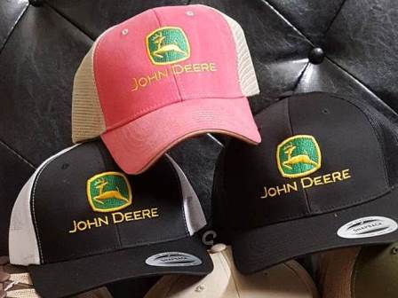 John Deere Pink Hats