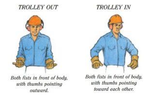 Tower Crane Hand Signals