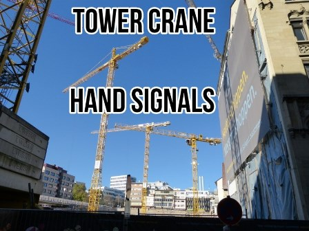 Hand Signals for construction
