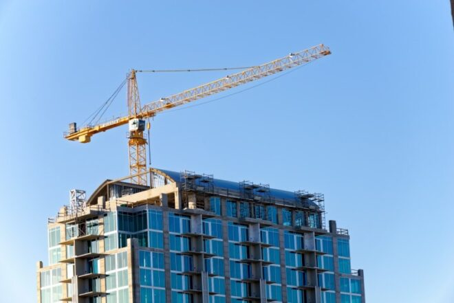 What is a tower crane