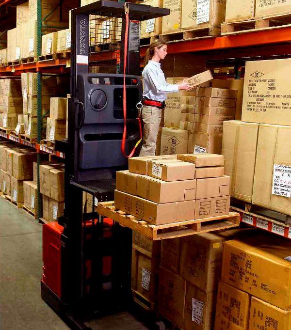 Material Handler Forklift Operator job description