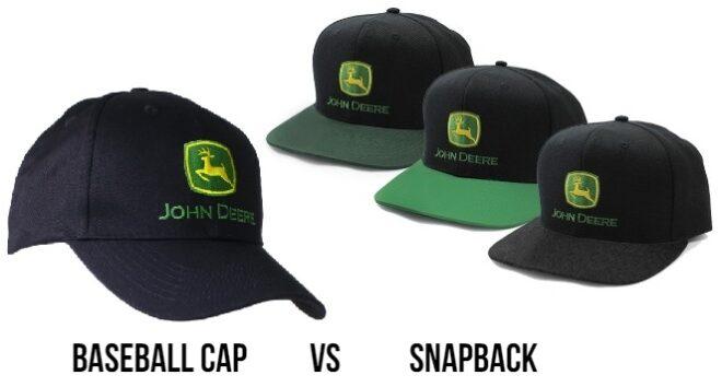 snapback vs baseball cap