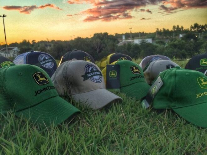 John Deere Fitted Hat