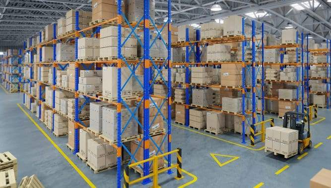How to secure pallet racking to the floor