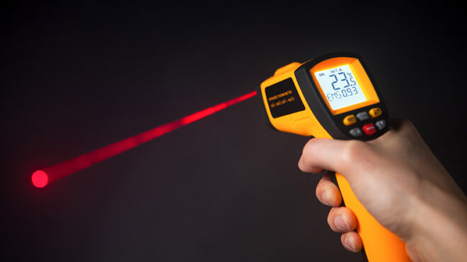 How to use Infrared Thermometer with Laser Pointer