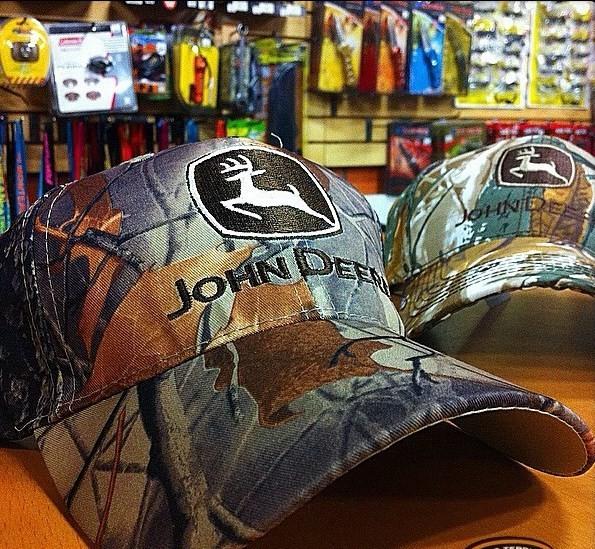John Deere Camo Hat