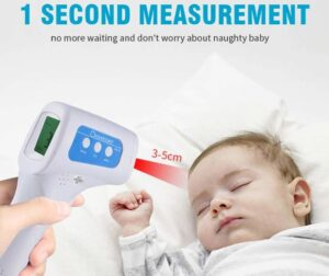 Professional grade medical thermometer