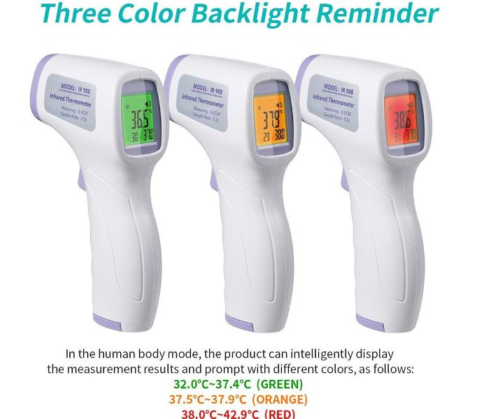 Non Contact Medical Thermometer